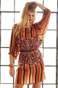 Anthropologie Striped Dress