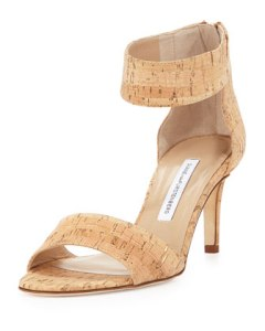 DVF Kinder Cork Sandals