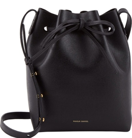 Mansur Garaval Bucket Bag