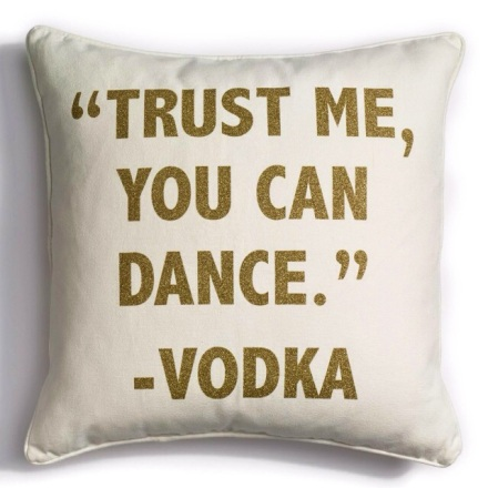 Trust Me pillow