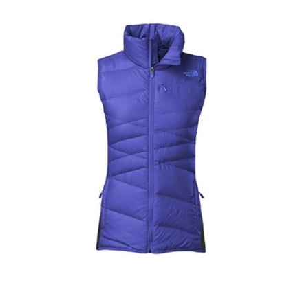 north face purple vest