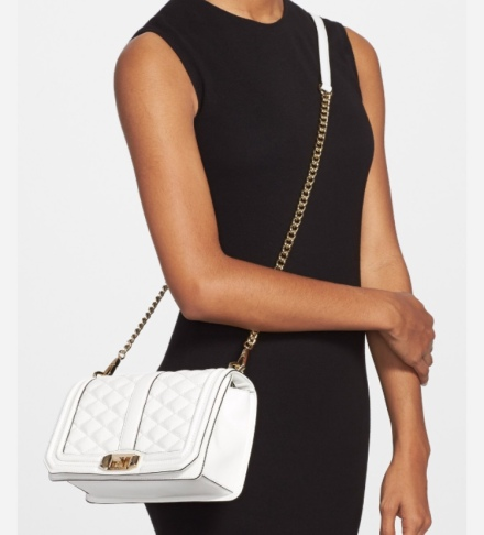 Winter White Rebecca Minkoff Bag
