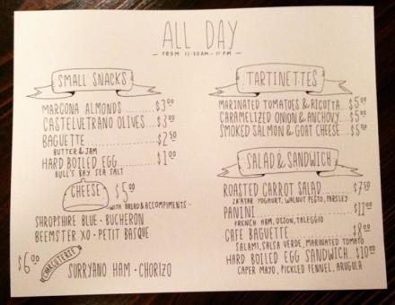 st alban menu